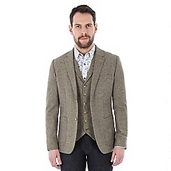 Jeff Banks - Taupe donegal blazer