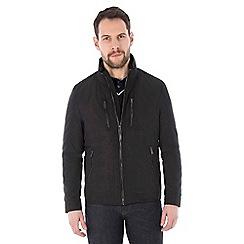 Jeff Banks - Black biker jacket