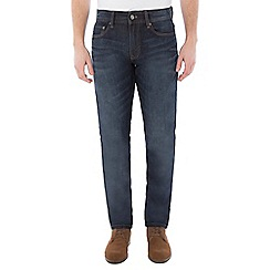 Jeff Banks - Dark blue stone wash jean