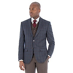 Racing Green - Navy textured tailored suit