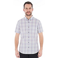 Jeff Banks - Multi graded check shirt