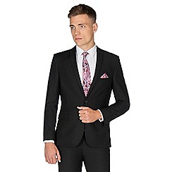 Red Herring - Black Twill Skinny Fit Suit