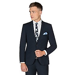 Red Herring - Navy twill skinny fit suit