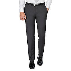 Red Herring - Charcoal twill skinny fit trousers