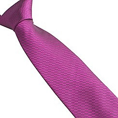 Stvdio by Jeff Banks - Rose irregular textured tie