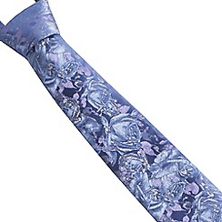 Stvdio by Jeff Banks - Blue graduated rose tie