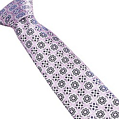 Stvdio by Jeff Banks - Pink tiles tie