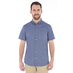Jeff Banks - Blue deco chambray shirt