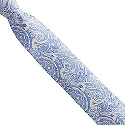 Stvdio by Jeff Banks - Gold intricate paisley tie