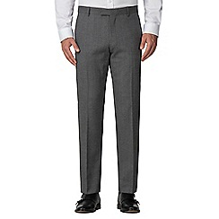 Racing Green - Grey jaspe tailored trouser