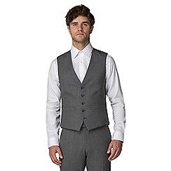 Racing Green - Grey jaspe waistcoat