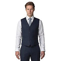 J by Jasper Conran - Blue donegal waistcoat