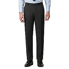 The Collection - Charcoal plain tailored fit trousers
