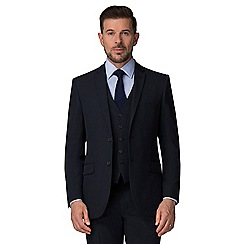 The Collection - Navy regular fit suit