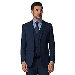 The Collection - Bright blue regular fit suit