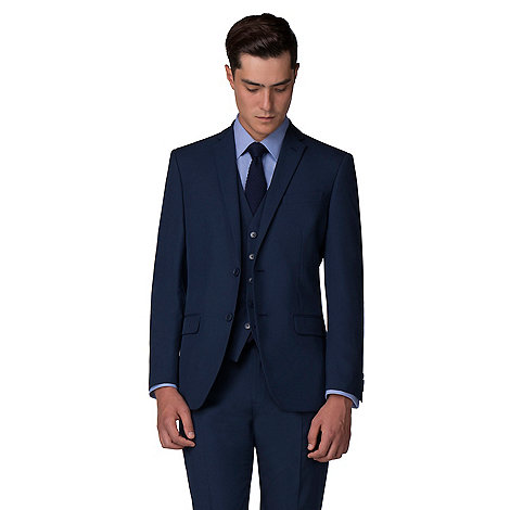 The Collection - Bright blue plain tailored fit suit