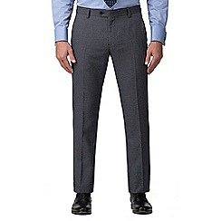 The Collection - Grey jaspe effect tailored fit trousers