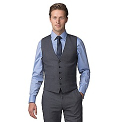 The Collection - Grey jaspe effect tailored fit waistcoat
