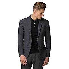 Red Herring - Grey donegal slim fit suit