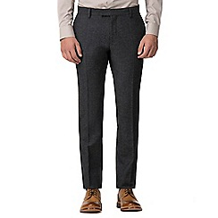 Red Herring - Grey donegal slim fit trouser