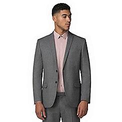 Red Herring - Smoked grey jaspe slim fit suit