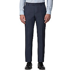 Red Herring - Slate blue jaspe slim fit trousers