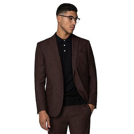 Red Herring - Rust dongegal slim fit suit