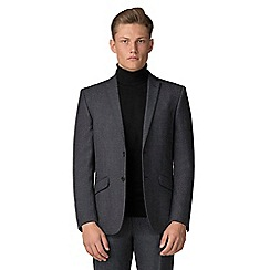 Ben Sherman - Charcoal speckle tailored fit suit