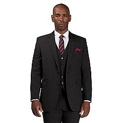 Centaur Big & Tall - Grey semi plain suit