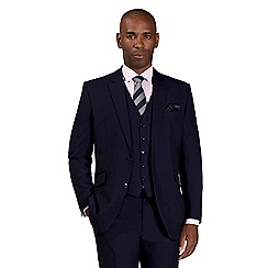 Centaur Big & Tall - Blue semi plain suit