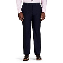 Centaur Big & Tall - Blue semi plain trousers