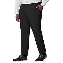 Centaur Big & Tall - Black dresswear trousers