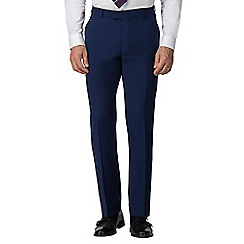 Occasions - Bright blue regular fit trouser