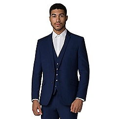 Occasions - Bright blue slim fit jacket