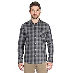 Jeff Banks - Grey gradual check shirt