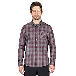 Jeff Banks - Berry check shirt