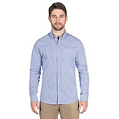 Jeff Banks - Blue gingham shirt