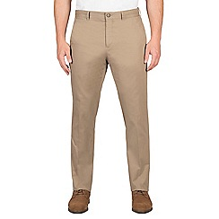Jeff Banks - Beige twill chino trouser