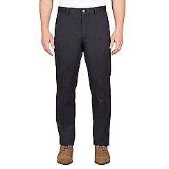 Jeff Banks - Navy twill chino trouser