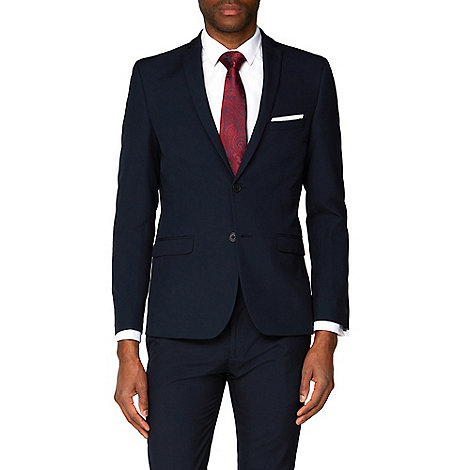 Red Herring - Navy skinny fit suit