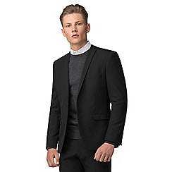 Red Herring - Black skinny fit suit