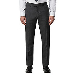 J by Jasper Conran - Grey jaspe check tailored trouser