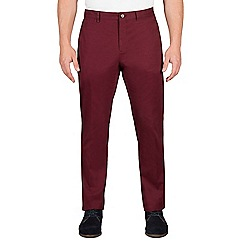 Jeff Banks - Red twill chino trouser