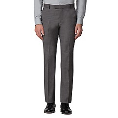 Ben Sherman - Salt and pepper micro slim fit trousers