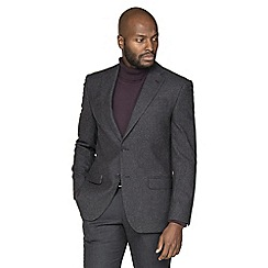 Racing Green - Grey burgundy tailored suit