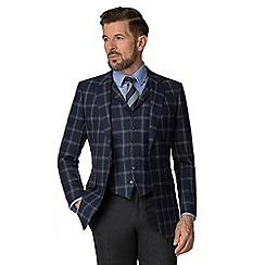 Hammond & Co. by Patrick Grant - Navy flannel windowpane jacket