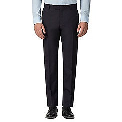 Ben Sherman - Navy mulberry gingham slim fit trouser