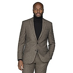Racing Green - Brown donegal tailored jacket