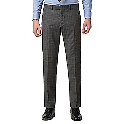 Hammond & Co. by Patrick Grant - Grey check tailored trousers