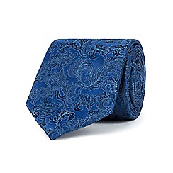Stvdio by Jeff Banks - Navy ornate leaves tie